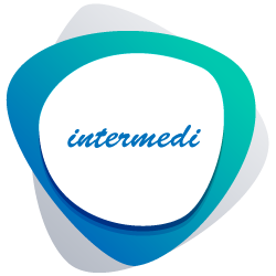 logo intermedi color verde-blu